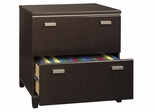Bush Lateral File Cabinet - Tuxedo Collection - WC21854-03