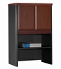 "Bush Series A - 24"" Storage Hutch Hansen Cherry Collection - Bush Office Furniture - WC94425"