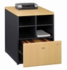 "Bush Series A - 24"" Storage Unit  Beech Collection - Bush Office Furniture - WC14323"