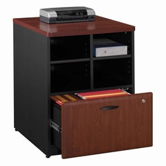 "Bush Series A - 24"" Storage Unit  Hansen Cherry Collection - Bush Office Furniture - WC94423"