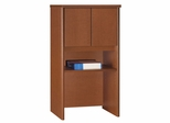 "Bush Series C - 24"" Storage Hutch  Auburn Maple Collection - Bush Office Furniture - WC48506"