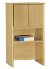 "Bush Series C - 24"" Storage Hutch  Light Oak Collection - Bush Office Furniture - WC60306"