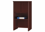 "Bush Series C - 24"" Storage Hutch  Mahogany Collection - Bush Office Furniture - WC36706"