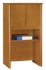 "Bush Series C - 24"" Storage Hutch  Natural Cherry Collection - Bush Office Furniture - WC72406"