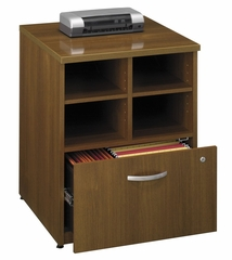 "Bush Series C - 24"" Storage Unit  Warm Oak Collection - Bush Office Furniture - WC67504"