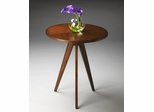 Butler Antique Cherry Wooden Tripod Accent Table