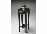 Butler Black Licorice Cherry Veneer Top Accent Table