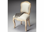 Butler Cappuccino Hand Carved Side Chair