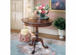 Butler Cherry Round Designed Accent Table