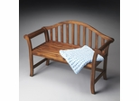Butler Cinnamon Traditional Style Bench