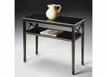 Butler Console Table Brilliant Black