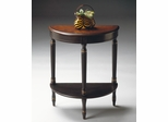 Butler Demilune Console Table Cafe Noir