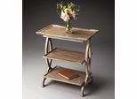 Butler Driftwood 3-Tier Side Table