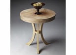 Butler Driftwood Satin Stained Finish Side Table