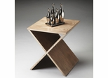 Butler Driftwood X Base Shaped Bunching Table