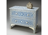 Butler Heritage Blue Bone Inlay Chest