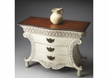 Butler Heritage Crackled Alabaster Curvilinear Chest