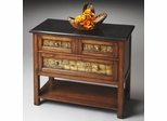 Butler Heritage Golden Pecan Console Chest