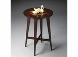 Butler Heritage Mahogany Inlay Accent Table