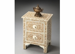 Butler Heritage Vine / Geometric Pattern Accent Chest