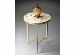 Butler Loft Toffee and Creme Accent Table
