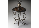 Butler Metalworks Accent Table Pewter-Gold