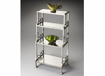 Butler Metalworks Mirrored Four Shelf Etagere