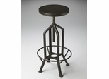 Butler Metalworks Revolving and Adjustable Industrial-look Bar Stool