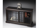 Butler Midnight Rose Shaker-Inspired Bookcase Console