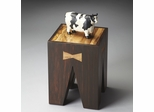 Butler Modern Expressions Sheesham Wood Grain Accent Table