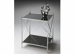 Butler Nickel Double-decker End Table
