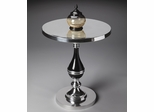 Butler Nickel Plated Magnificence Accent Table