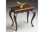 Butler Nutmeg Accent Table with Dramatic Cabriole Legs