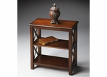 "Butler Plantation Cherry Petite ""X"" Sided Bookcase"