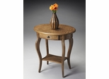 Butler Praline Hardwood Oval Accent Table