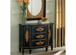 Butler Specialty Hand Painted Console Cabinet Coffee