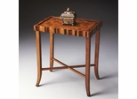 Butler Specialty Tea Table Olive Ash Burl Finish
