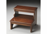 Butler Step Stool Chestnut Burl