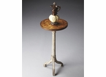 Butler Toasted Marshmallow Three Legged Turned Pedestal Table