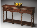 Butler Tobacco Leaf Exquisite Moroccan-inspired Console Table