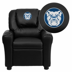 Butler University Bulldogs Embroidered Kids Recliner - DG-ULT-KID-BK-41011-EMB-GG