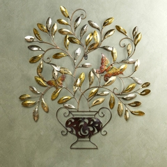 Butterfly Centerpiece Wall Sculpture - Holly and Martin