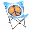 Butterfly Chair Multi Color Peace - LumiSource - CHR-BFPC-V