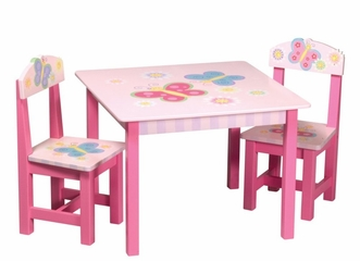 Butterfly Table and Chair Set - Guidecraft - G83362