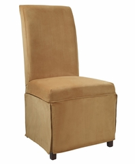 "Butternut Gold Velvet Skirted ""Slip Over"" (Fits 741-440 Chair) - Powell Furniture - 741-264Z"