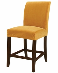 "Butternut Gold Velvet ""Slip Over"" for Counter Stool or Bar Stool - Powell Furniture - 742-263Z"