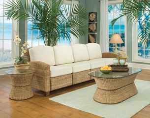 Cabana Banana 4 Section Sofa Set in Honey - Home Styles - 5401-63-SET-1