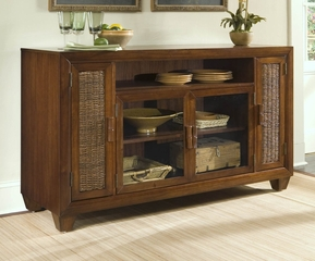 Cabana Banana Entertainment Credenza in Cocoa - Home Styles - 5402-10