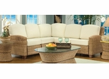 Cabana Banana L-Shape Sectional Sofa in Honey - Home Styles - 5401-62