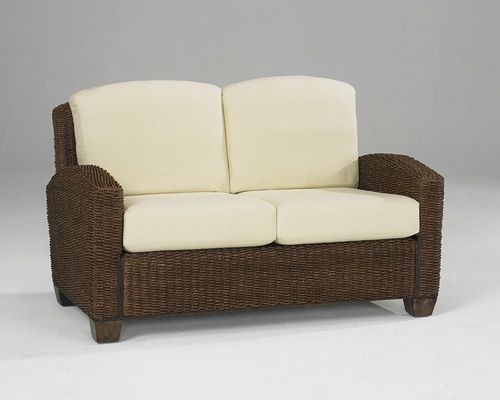 Cabana Banana Love Seat in Cocoa - Home Styles - 5402-60
